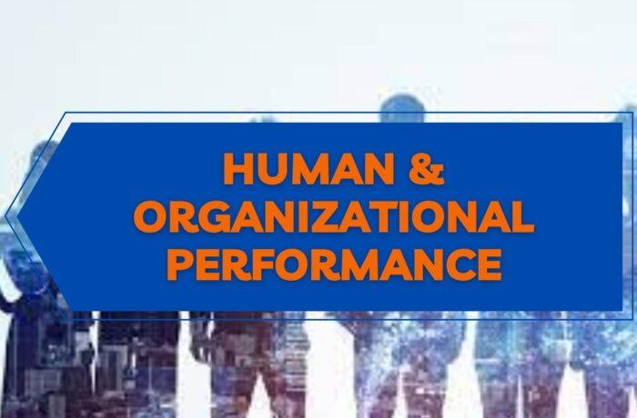 26 – SICUREZZA SUL LAVORO E FATTORE UMANO: HUMAN AND ORGANIZATIONAL PERFORMANCE (H.O.P.)| SEMINARIO